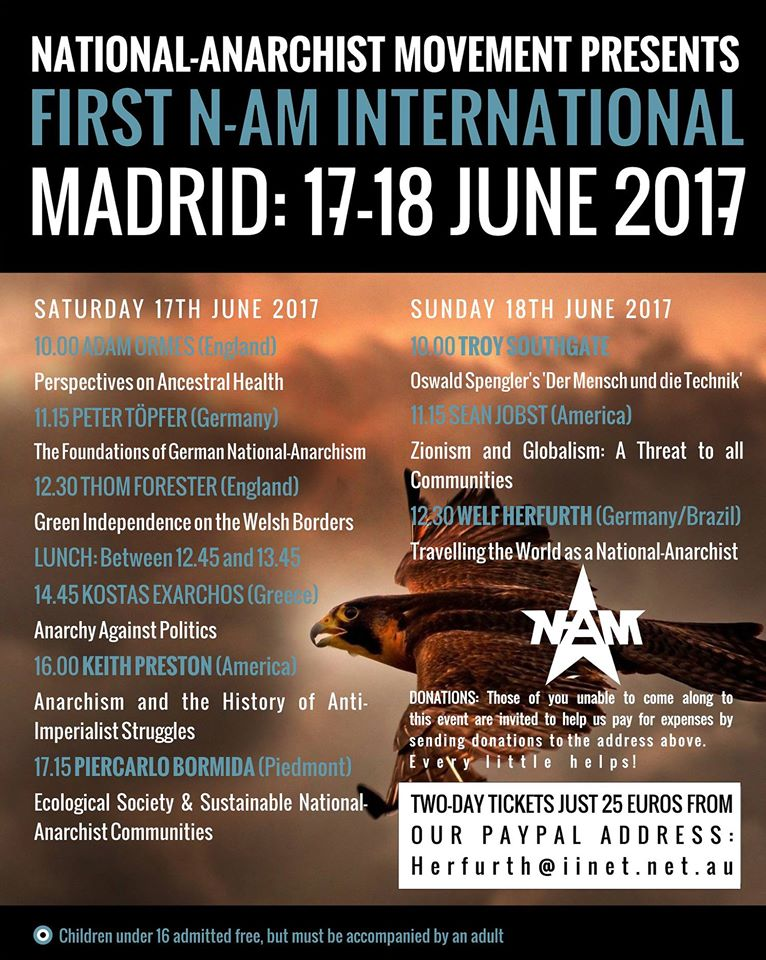 First national anarchist international madrid 17-18 june 2017